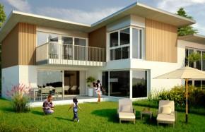 Villa 100% AUTONOME en énergie solaire + label Minergie