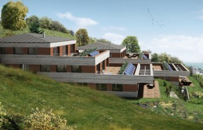 Villa-terrasse en Attique à Corcelles-Cormondrèche, panorama sur le lac et les Alpes...