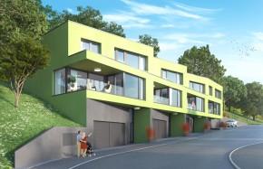 Villas urbaines de 4,5 et 5,5 pièces, dans quartier résidentiel